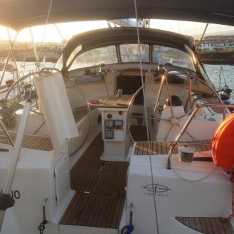 endlich wieder auf einem Boot