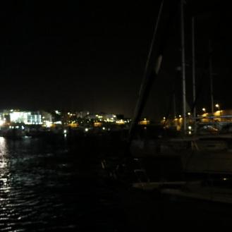 Nachtstimmung im Hafen