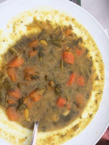 Wasserkresse Suppe ist wirklich sehr lecker und eine Spezialität auf La Gomera
